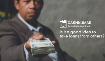 Is it a good idea to take loans from others
